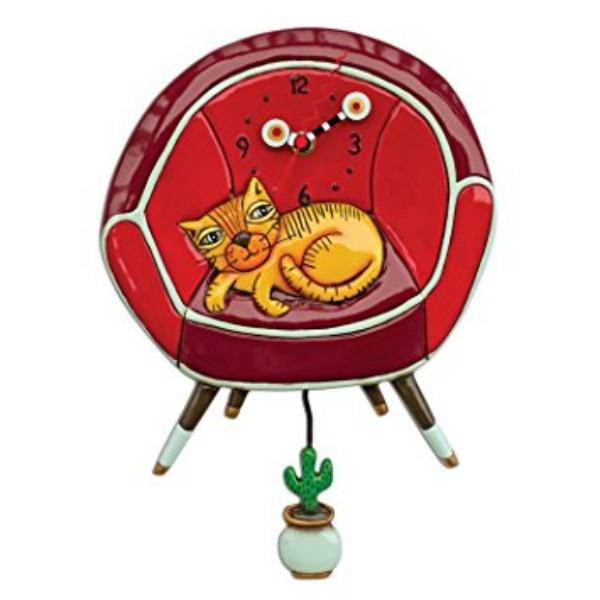 Allen Design Wanduhr Cool Cat